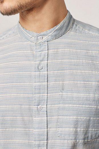 Next Kurzärmeliges Hemd mit strukturierter Oberfläche