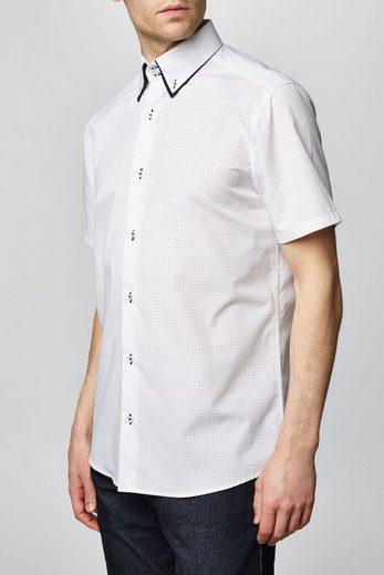 Next Kurzärmeliges Hemd mit Doppelkragen