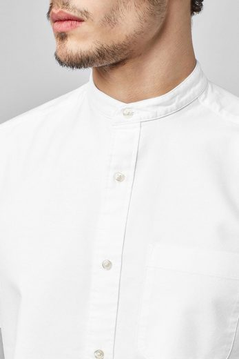 Next Short-sleeved Oxford Shirt With Button Tape