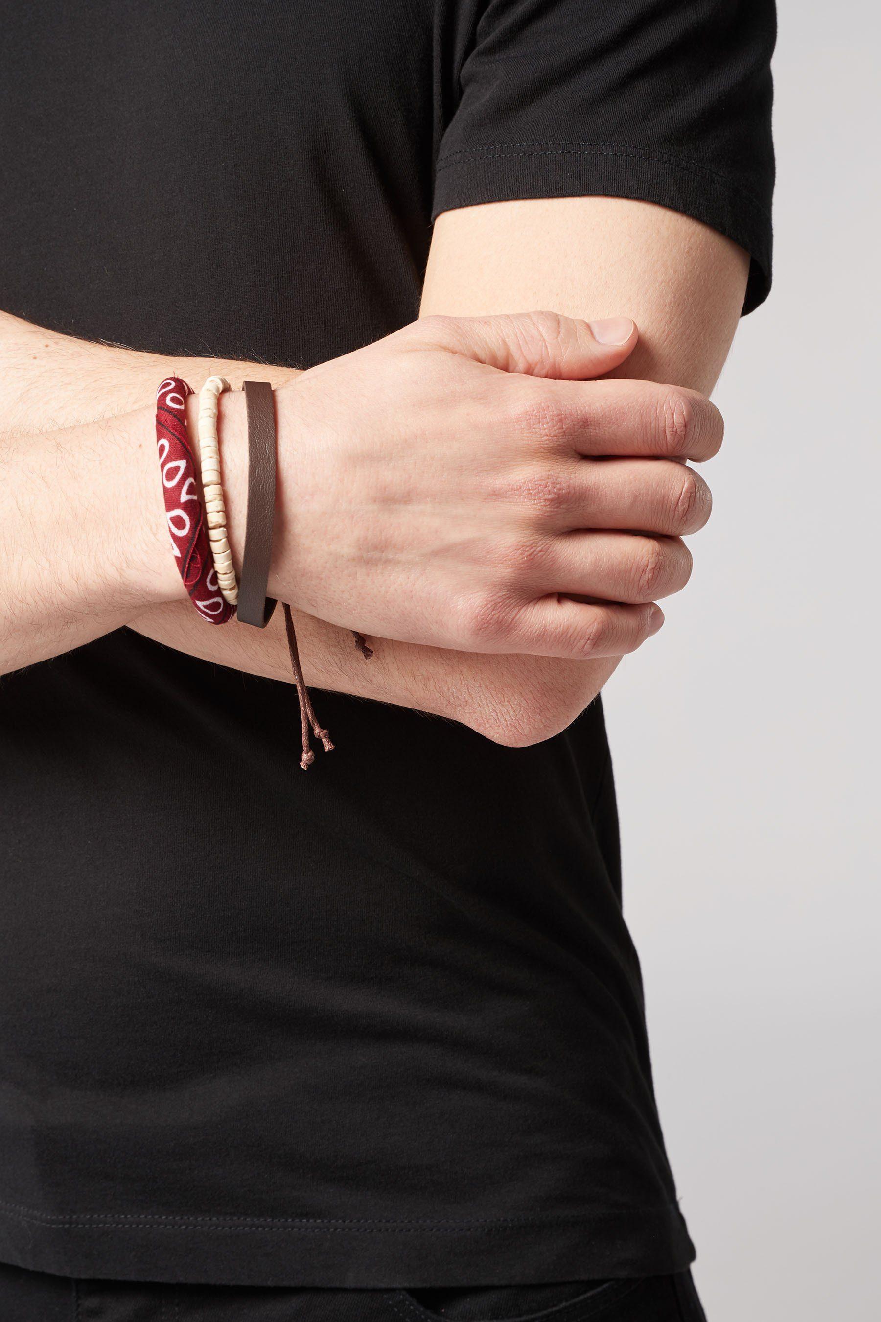 Next Bandana-Armbänder, 3er-Pack