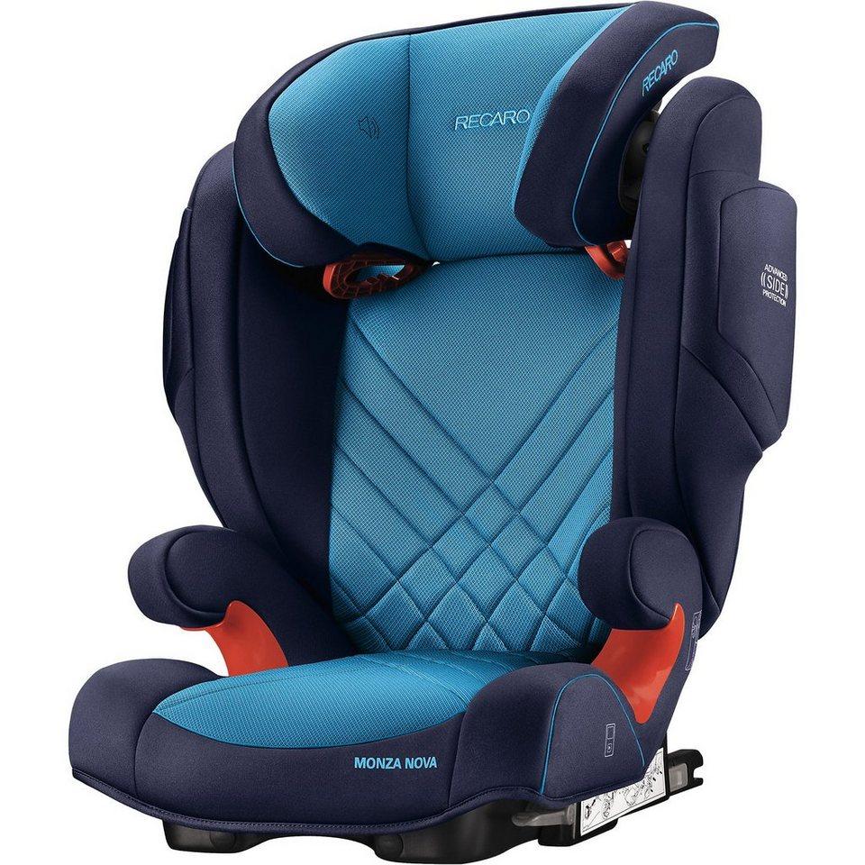 recaro auto kindersitz monza nova 2 seatfix xenon blue. Black Bedroom Furniture Sets. Home Design Ideas
