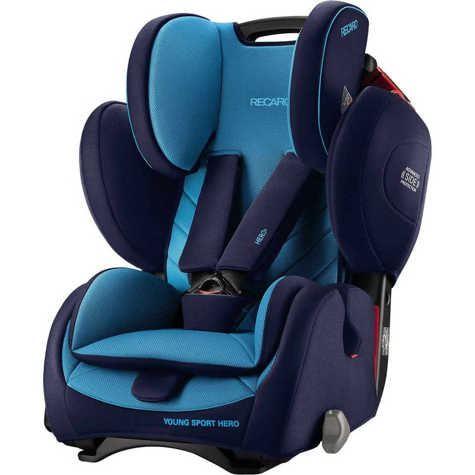 recaro auto kindersitz young sport hero xenon blue online. Black Bedroom Furniture Sets. Home Design Ideas