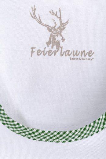 Spieth & Wensky Trachtenshirt Damen mit Puffärmel
