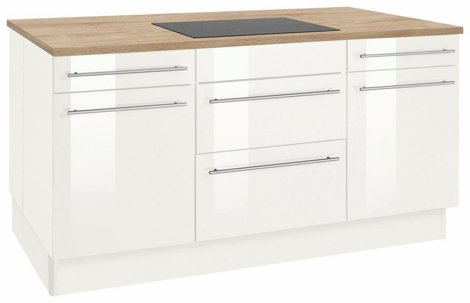Optifit Kochinsel Ohne E Gerate Bern Stellmasse 160 X 95 Cm Mit