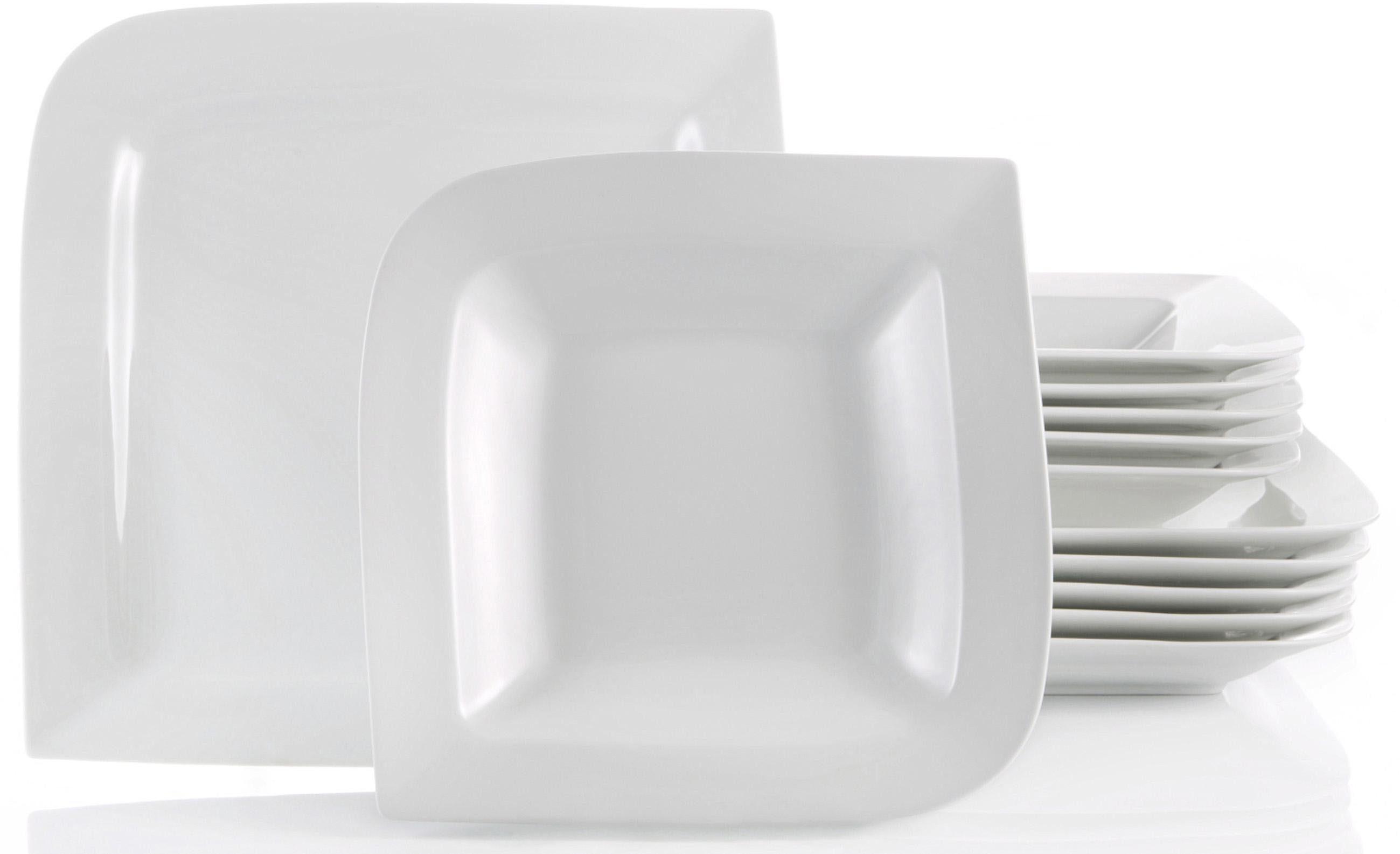 CreaTable Tafelservice Porzellan, 12 Teile, »FANTASIA«