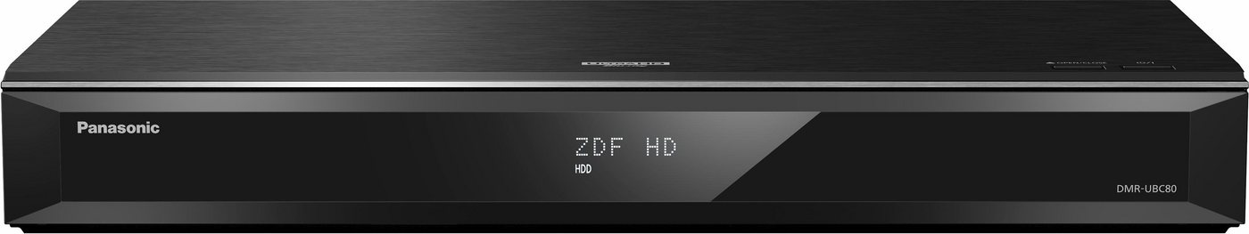Panasonic DMR-UBC80EGK UHD Blu-ray Recorder mit Twin DVB-C/T2 HD Tuner