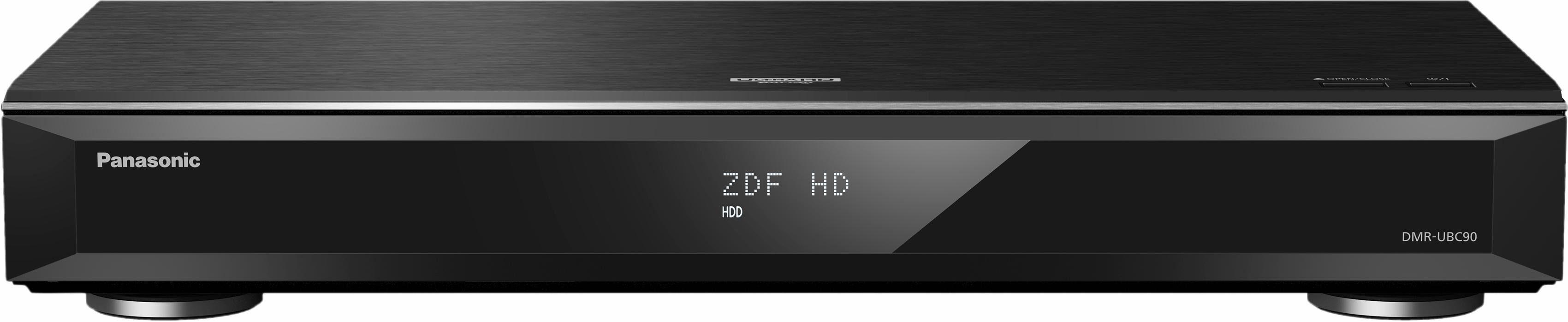Panasonic DMR-UBC90 UHD Blu-ray Recorder mit Triple DVB-C/T2 HD Tuner
