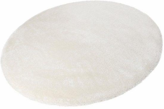 Hochflor-Teppich »Spa«, Esprit, rund, Höhe 40 mm, Besonders weich durch Microfaser
