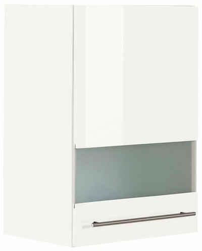 OPTIFIT Glashängeschrank »Bern« Breite 50 cm, Front mit Milchglas-Einsatz, mit Metallgriff