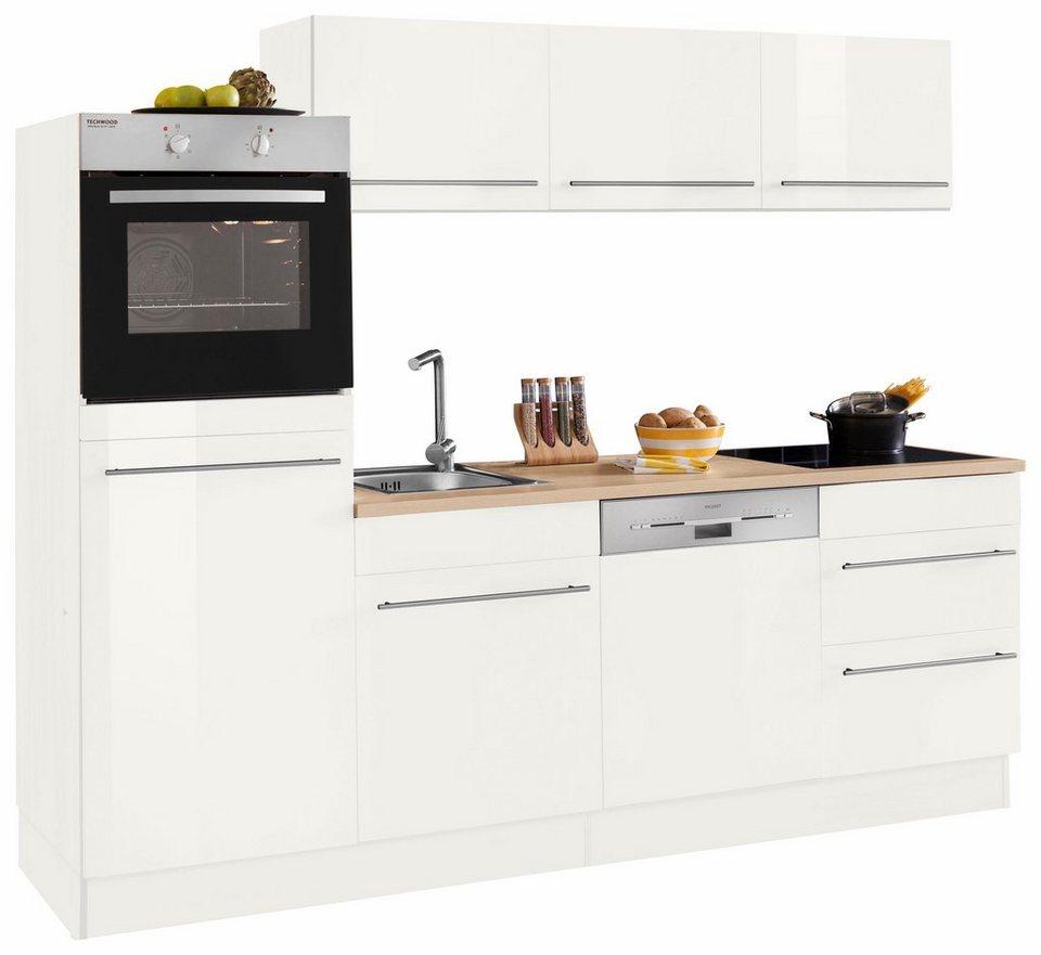 OPTIFIT Küchenzeile ohne E-Geräte »Bern«, Breite 240 cm mit ...