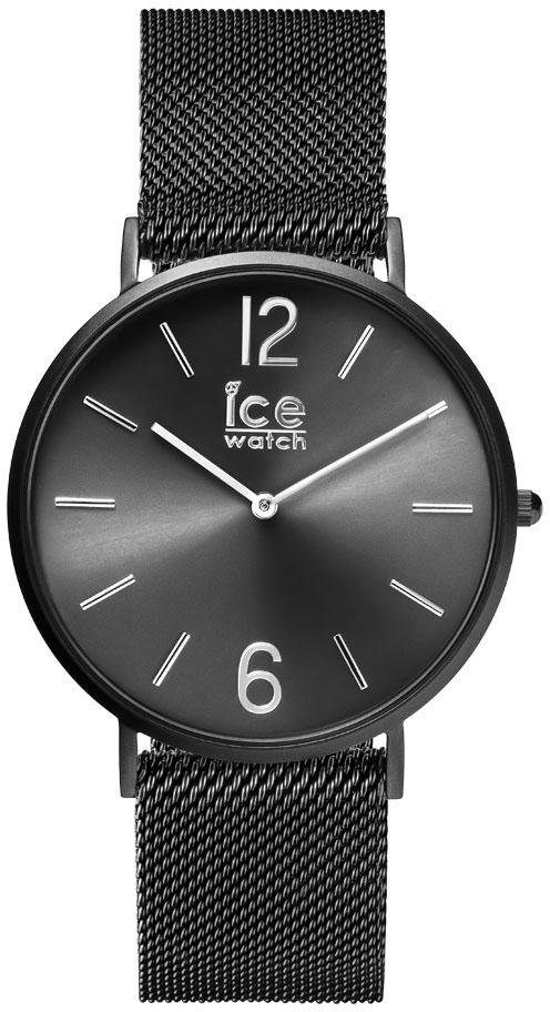 ice-watch Quarzuhr »CITY milanese - Black matte - Black dial - Medium - 2H, 012698«