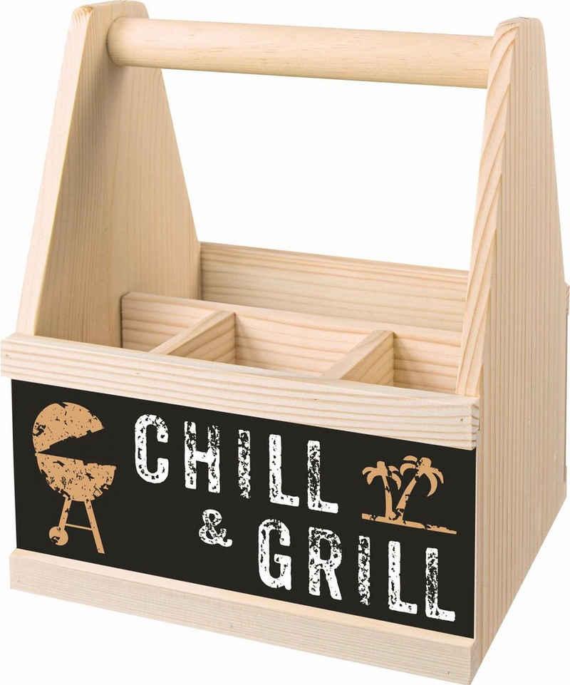 Contento Besteckträger »Chill & Grill«