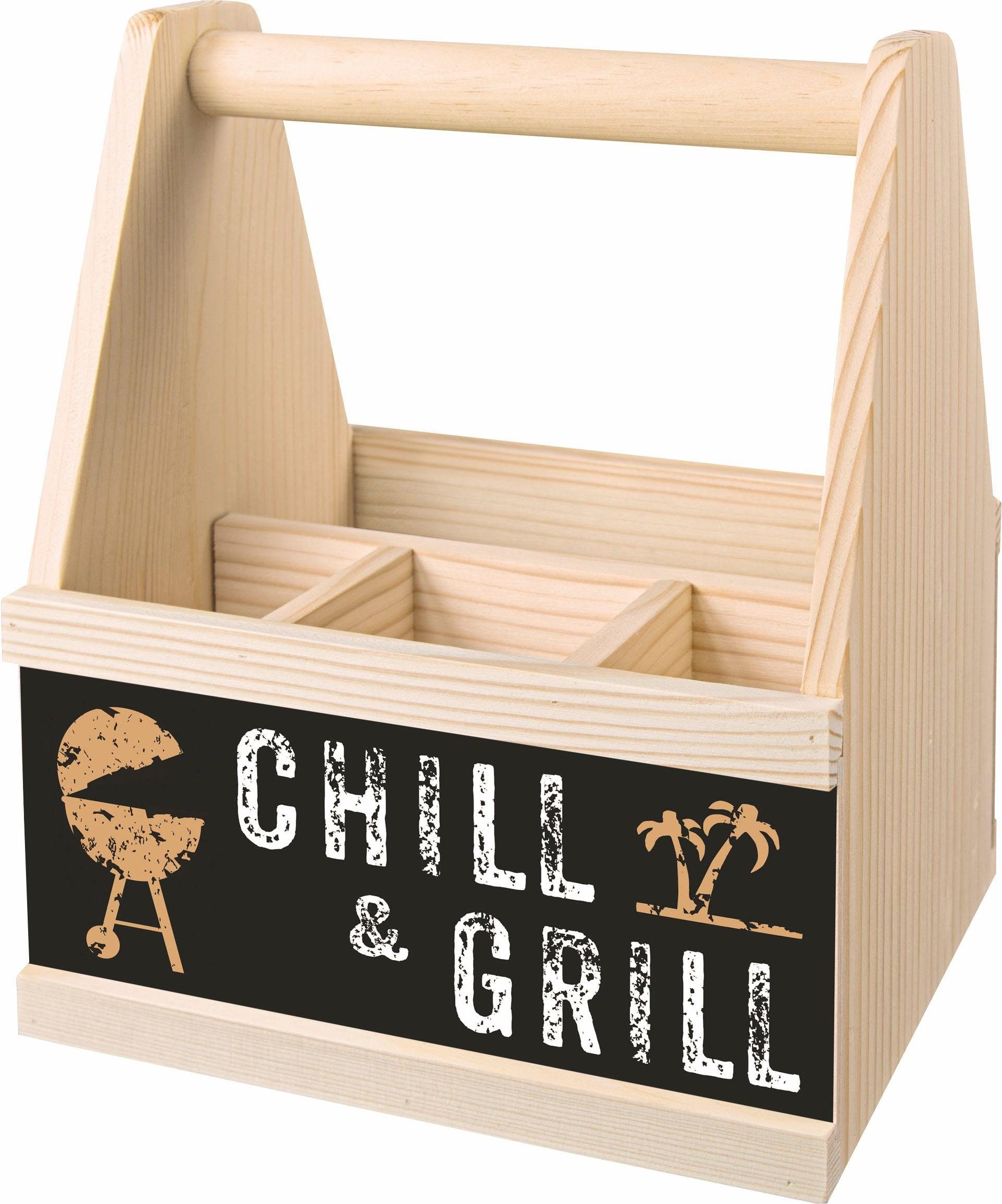 Contento Besteck Caddy »Chill & Grill«