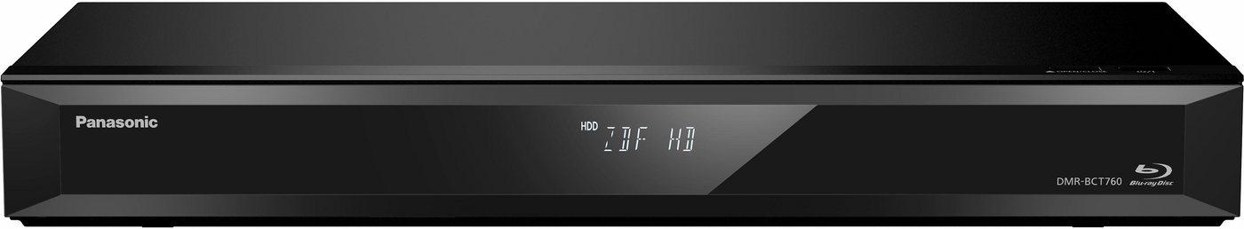 Panasonic DMR-BCT760/765EG Blu-ray Recorder mit Twin HD DVB-C Tuner