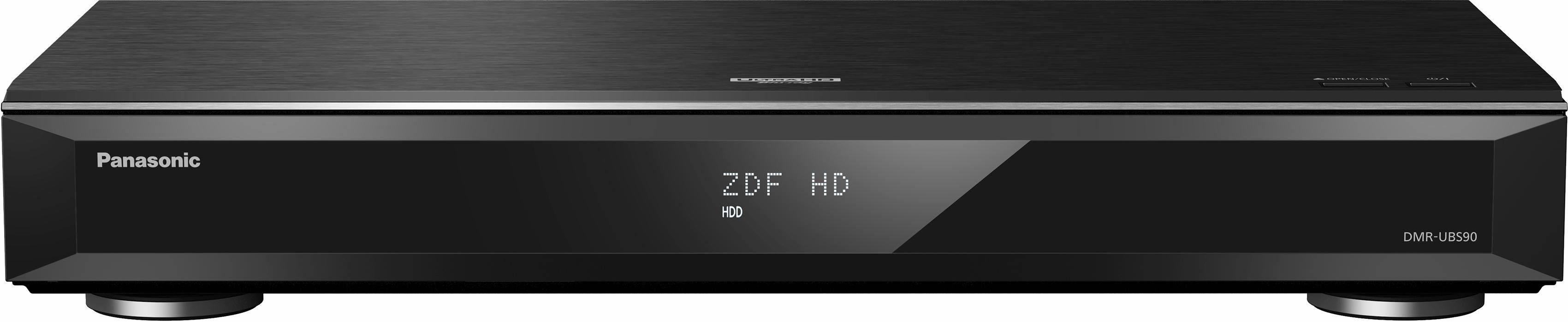 Panasonic DMR-UBS90EGK UHD Blu-ray Recorder mit Twin DVB-S Tuner