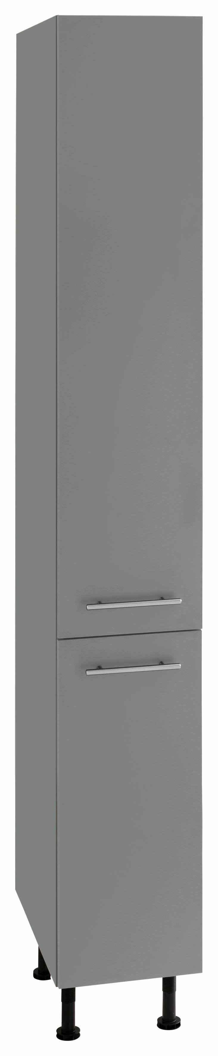 OPTIFIT Apothekerschrank »Bern« 30 cm breit, 212 cm hoch, mit höhenverstellbaren Stellfüßen, mit Metallgriffen