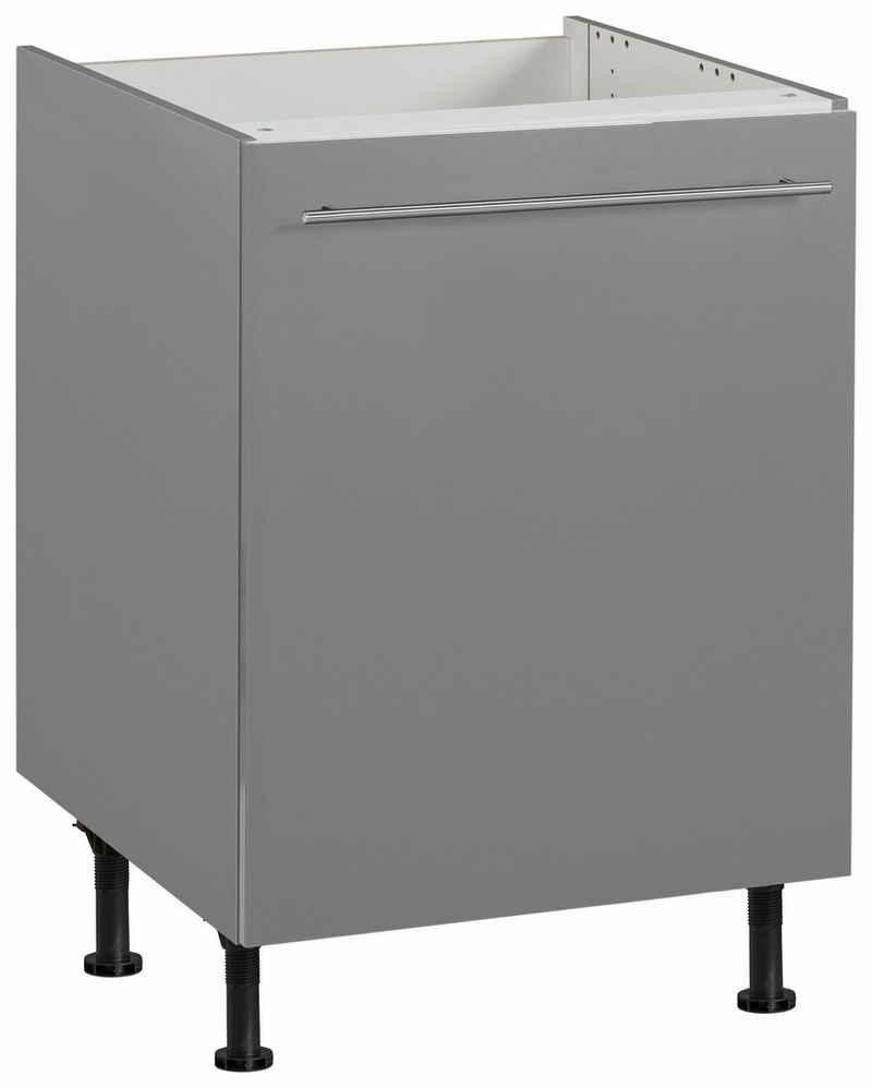 OPTIFIT Spülenschrank »Bern« 60 cm breit, mit 1 Tür, mit höhenverstellbaren Füßen, mit Metallgriff