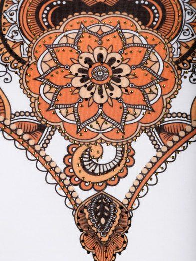 Paola Shirt mit schönem Ornamentdruck