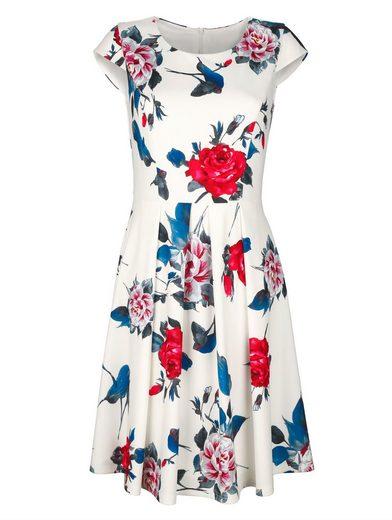 Laura Kent Jerseykleid mit Blumendruck
