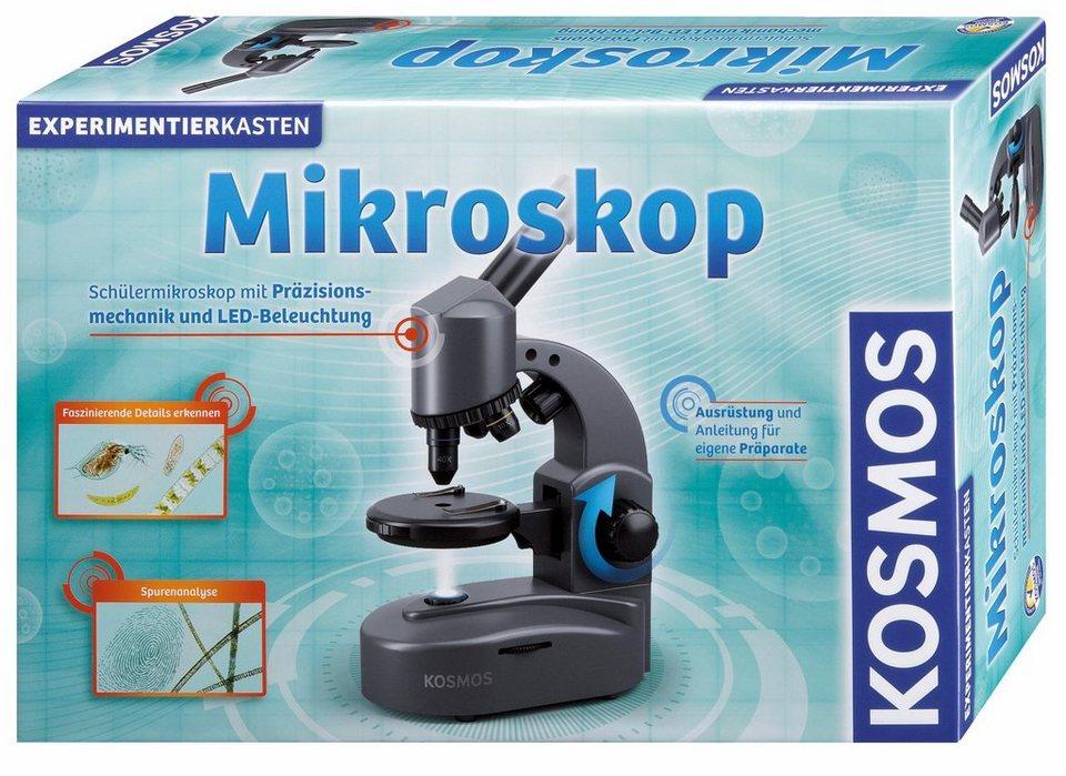 Kosmos experimentierkasten »mikroskop« kaufen otto