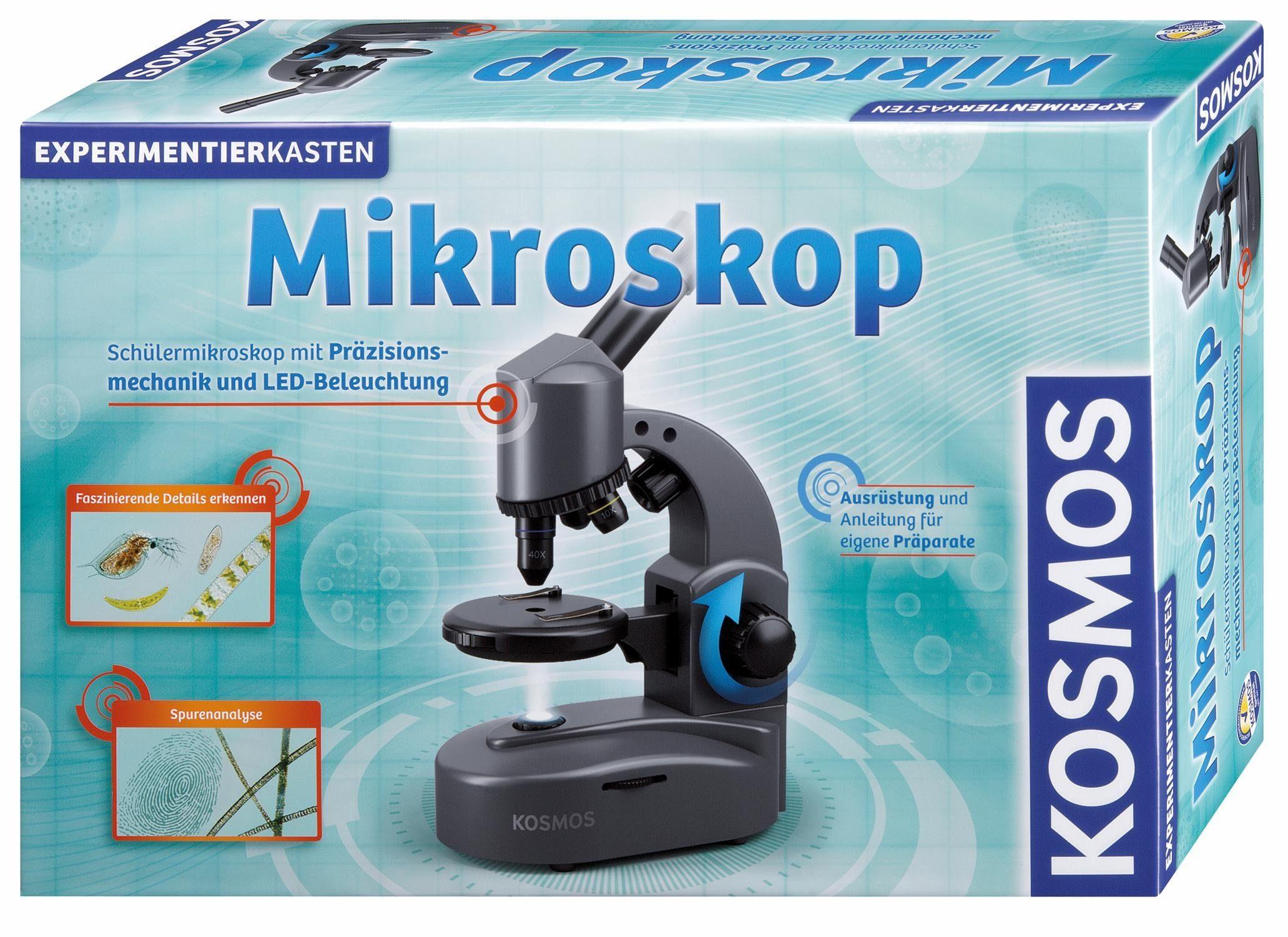 Kosmos Experimentierkasten, »Mikroskop«