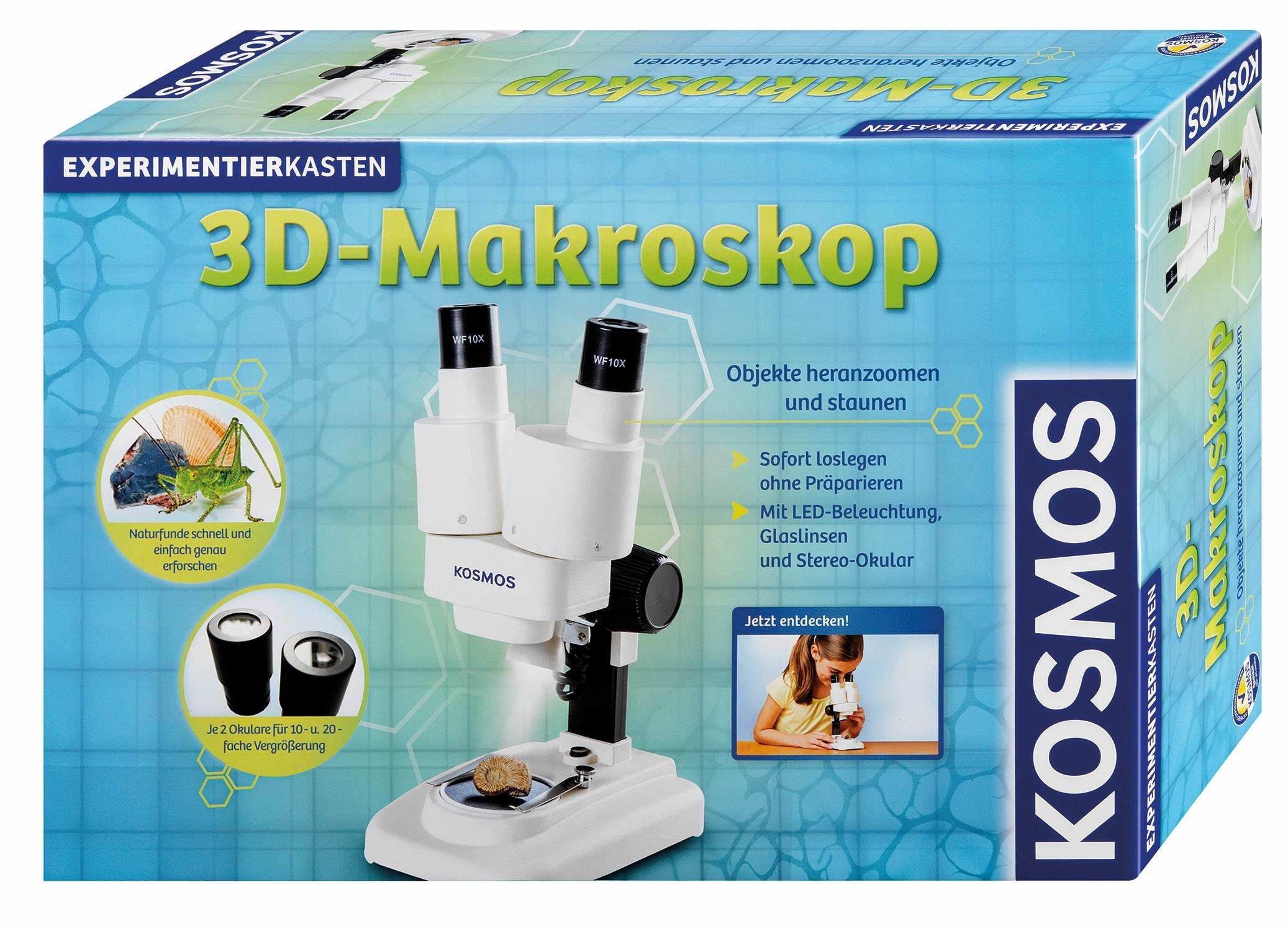 Kosmos Experimentierkasten, »3D Makroskop«
