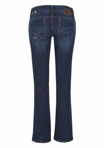 G-Star RAW Bootcut-Jeans Midge Saddle Mid Bootleg