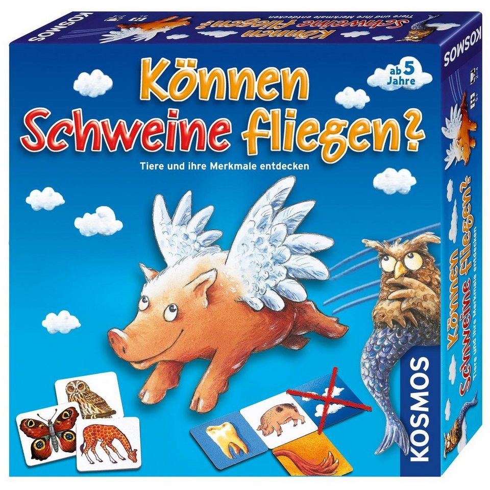kosmos kinderspiel k nnen schweine fliegen otto. Black Bedroom Furniture Sets. Home Design Ideas