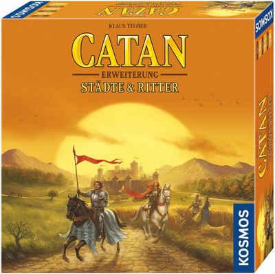 Kosmos Spiel, »Erweiterungsspiel, Catan, Städte & Ritter«, Made in Germany