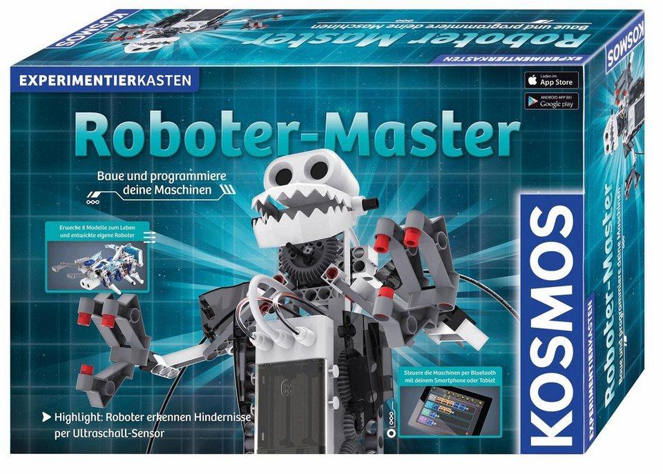 Kosmos Experimentierkasten, »Roboter Master« | OTTO