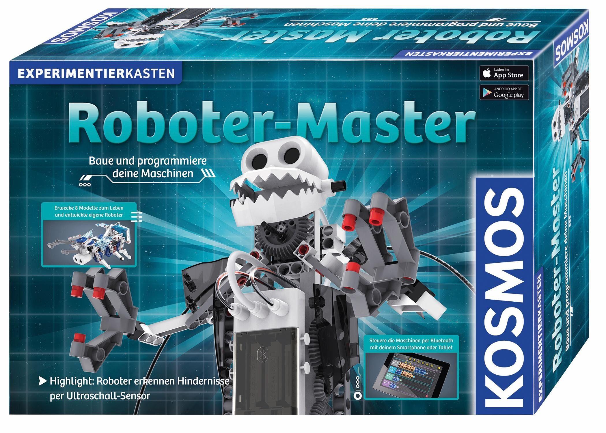 Kosmos Experimentierkasten, »Roboter Master«