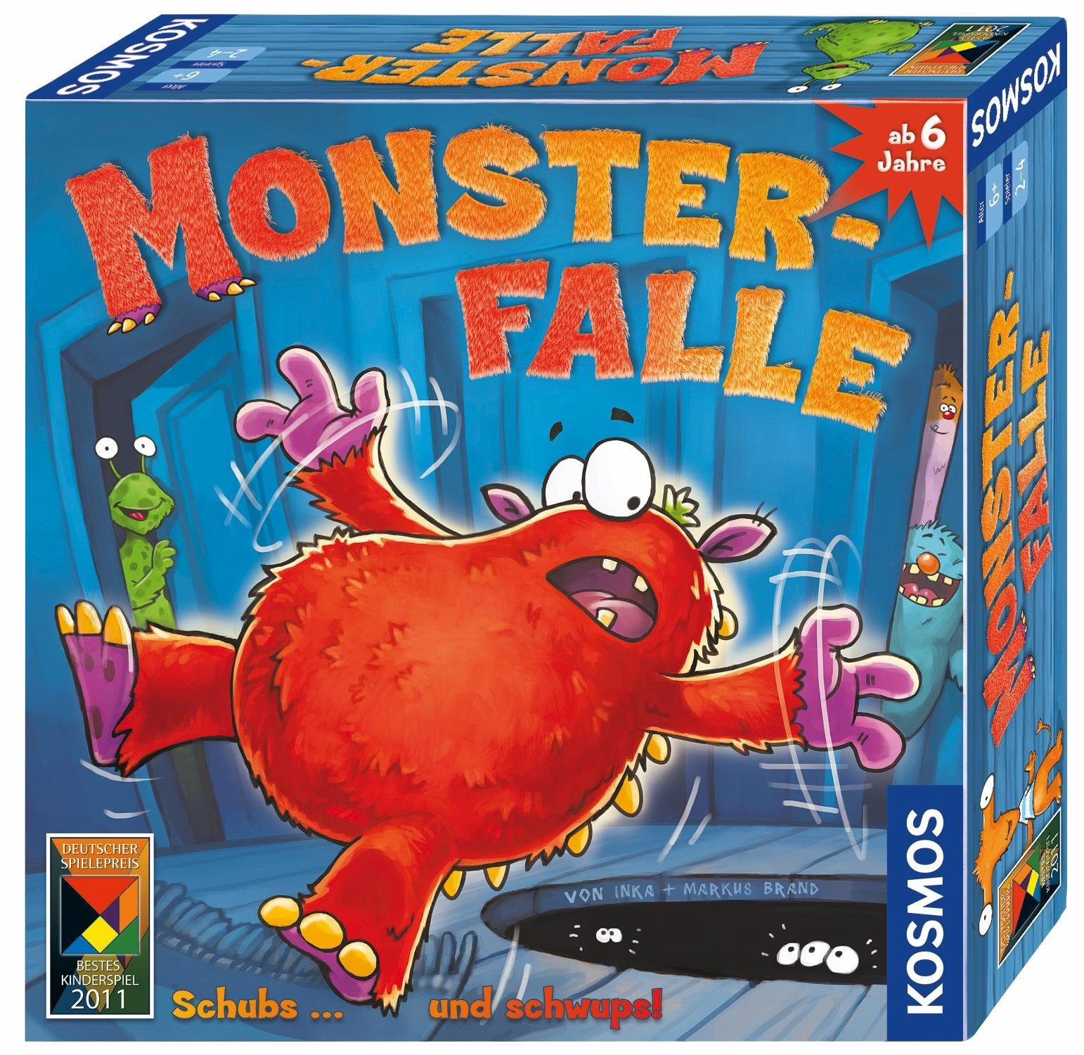 Kosmos Kinderspiel, »Monsterfalle«