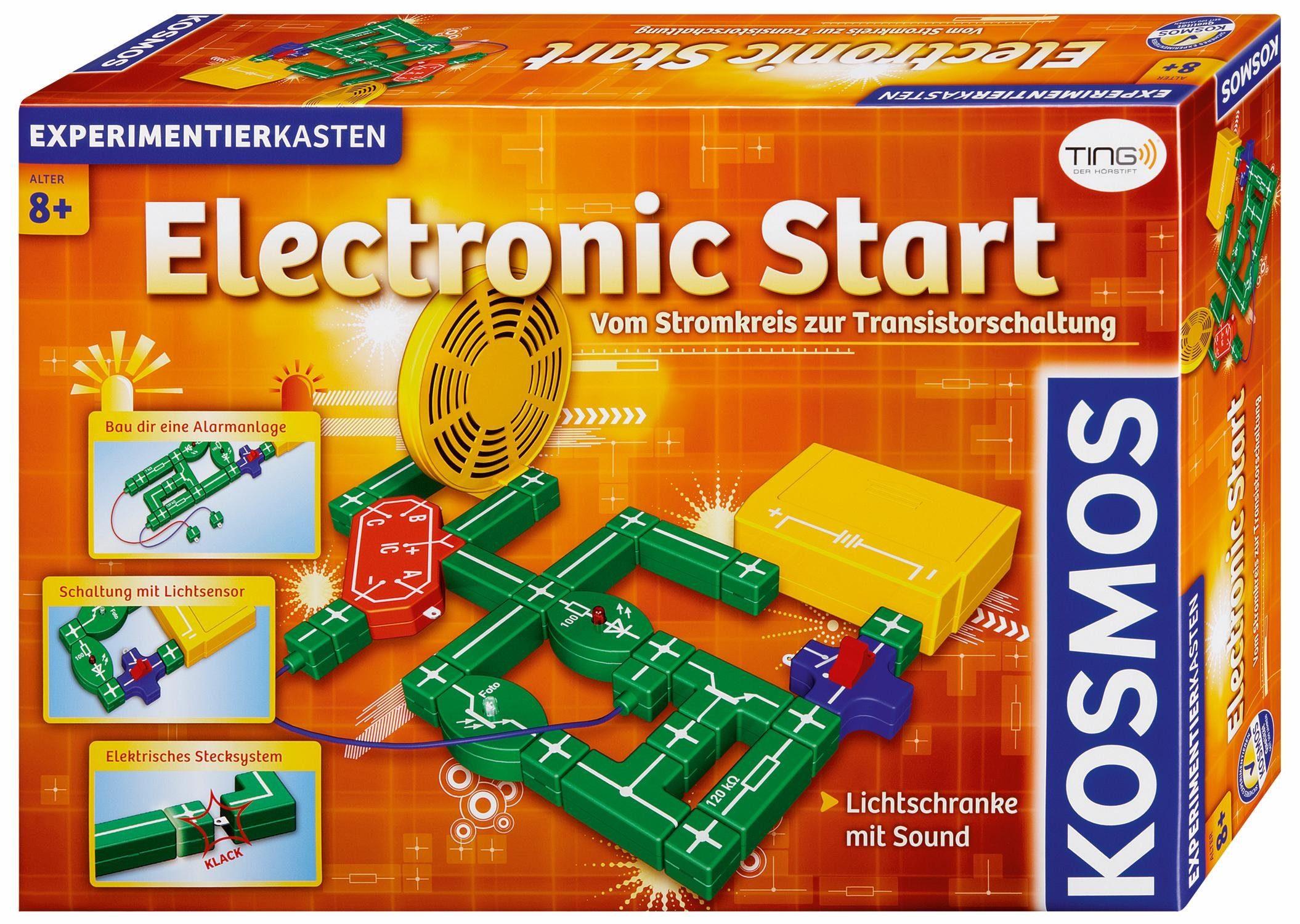 Kosmos Experimentierkasten, »Electronic Start«