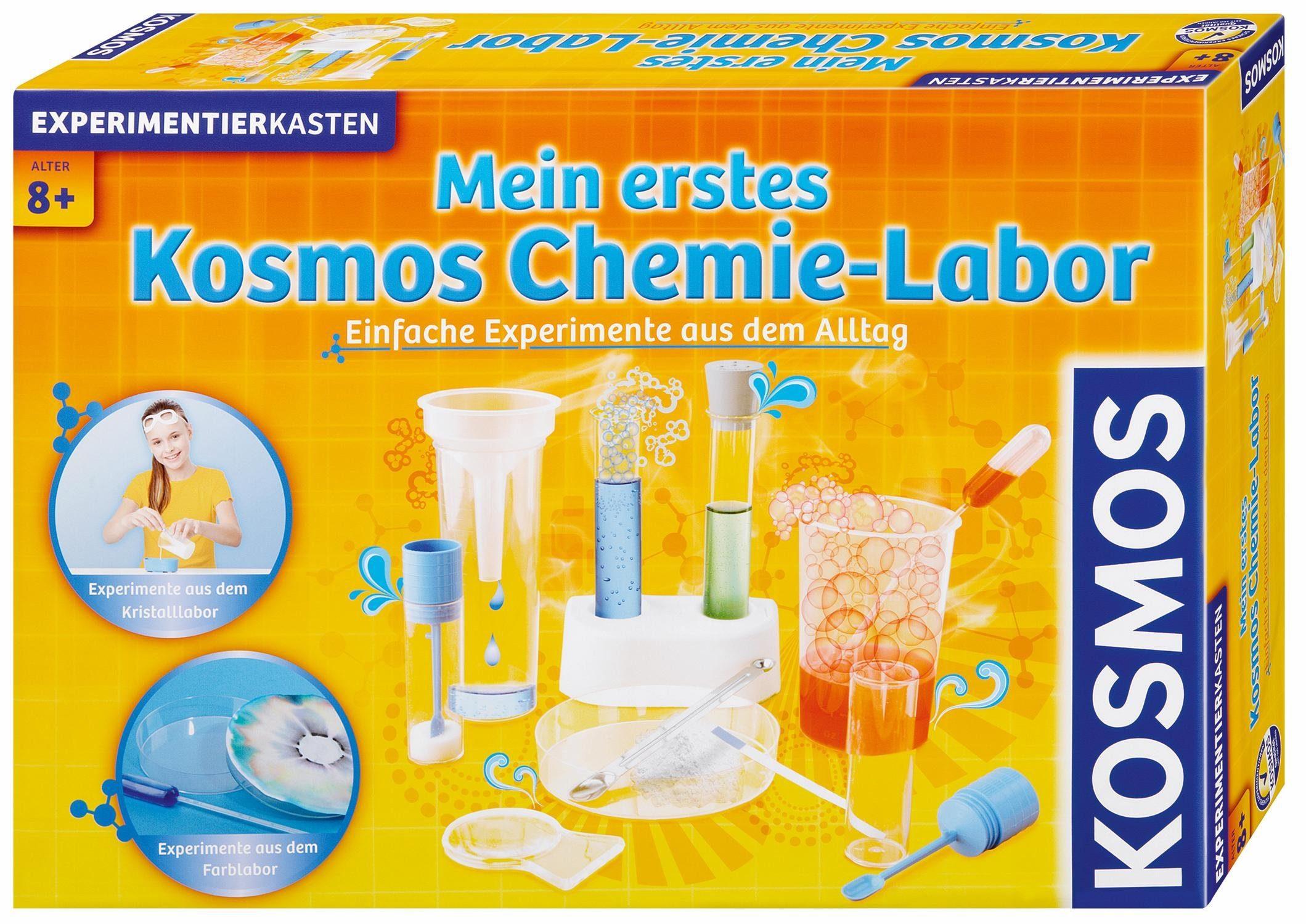 Kosmos Experimentierkasten, »Mein erstes Kosmos Chemielabor«