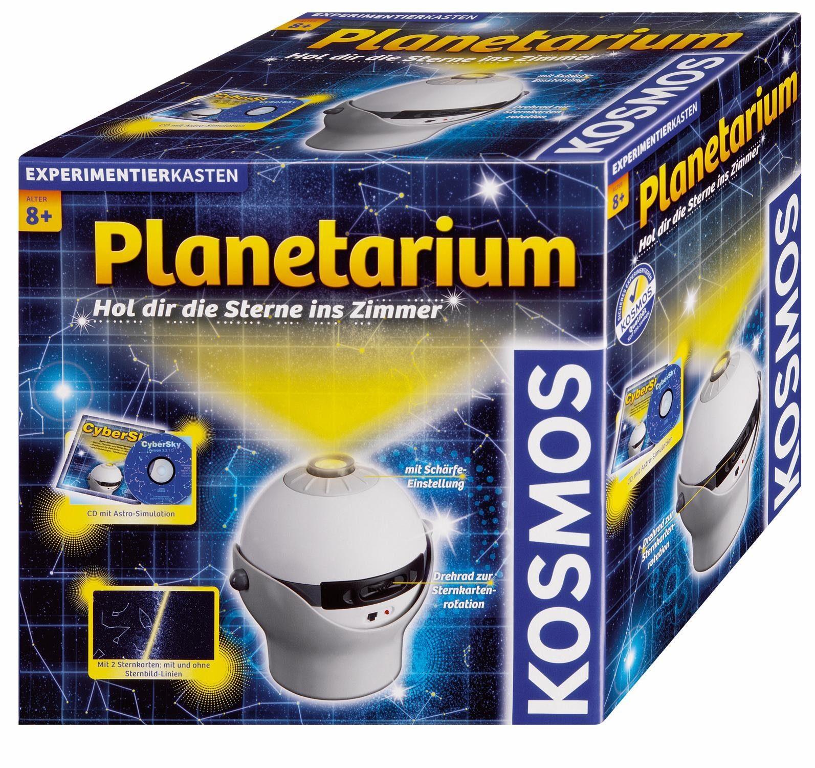 Kosmos Experimentierkasten, »Planetarium«