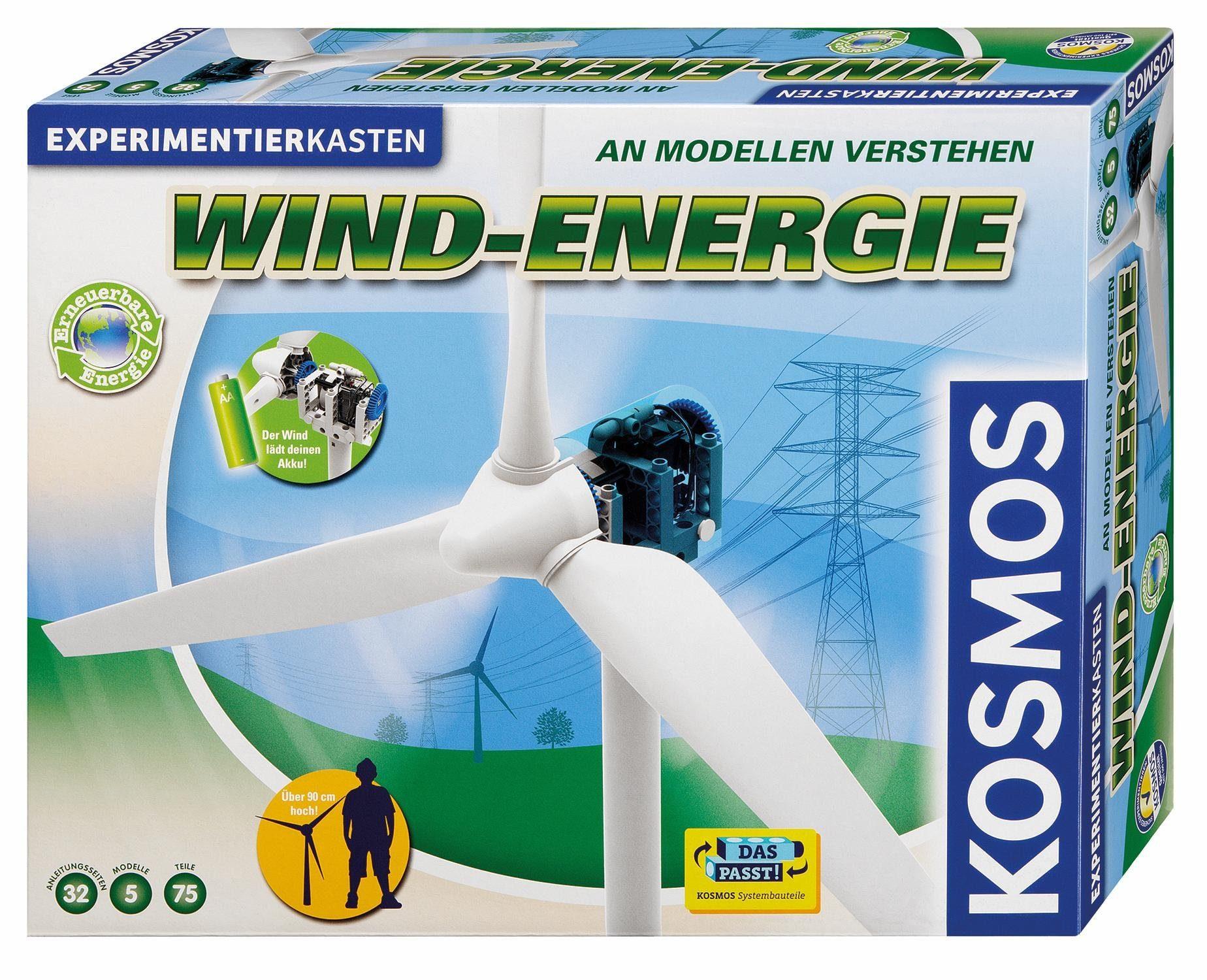 Kosmos Experimentierkasten, »Wind Energie«