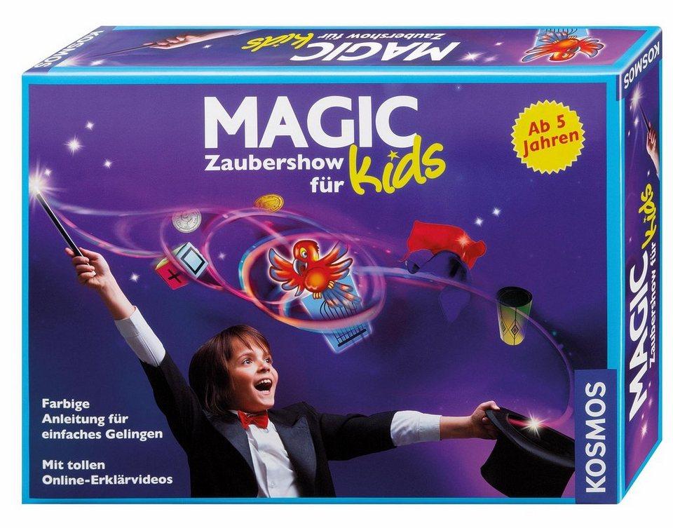 Kosmos Zauberkasten,  Magic Zaubershow für Kids