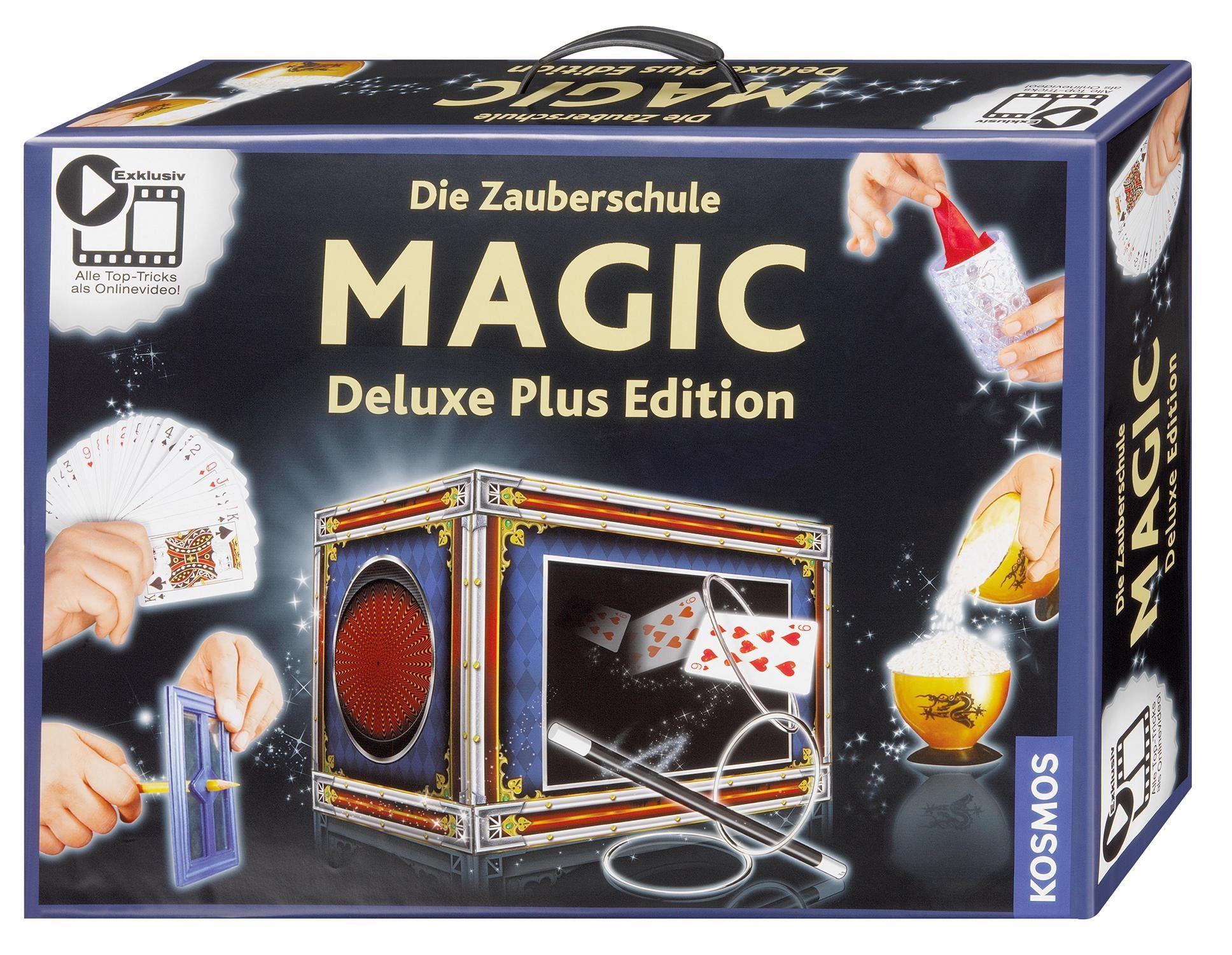 Kosmos zauberkasten die zauberschule magic deluxe plus edition
