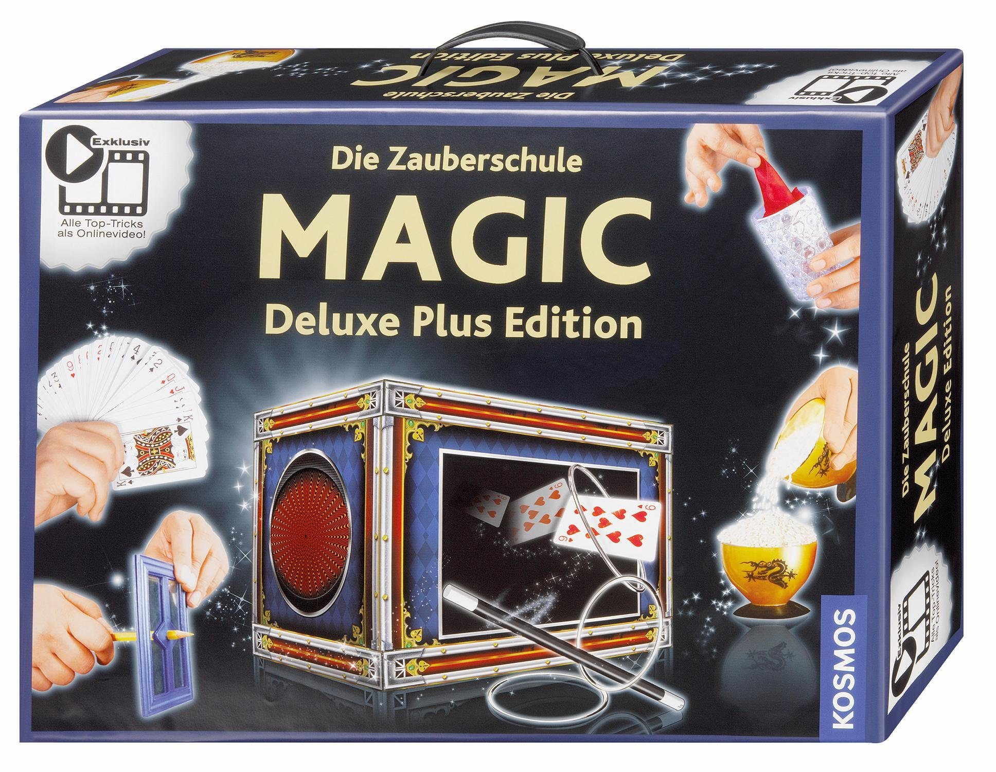 Kosmos Zauberkasten, »Die Zauberschule Magic Deluxe Plus Edition«