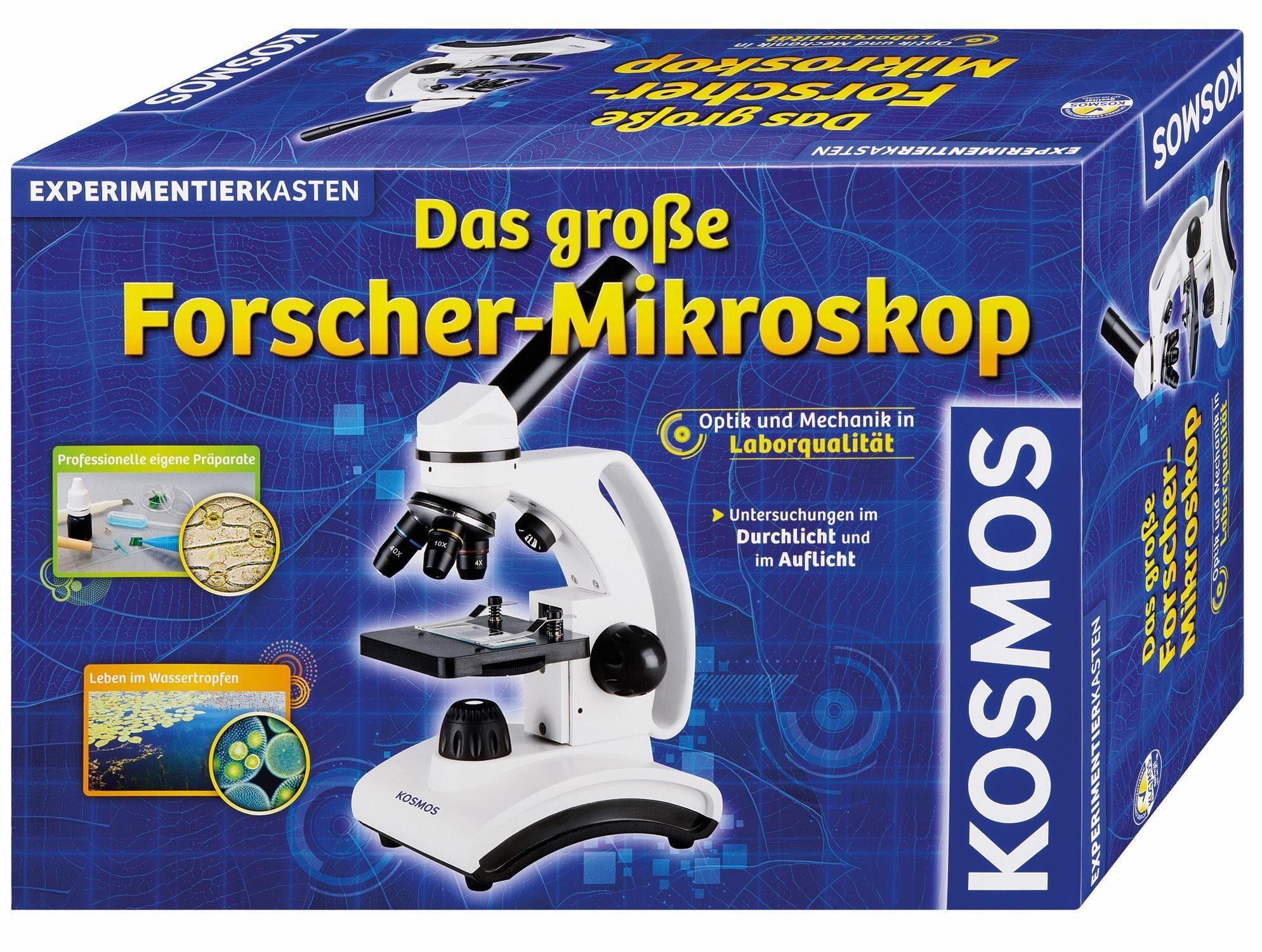 Kosmos Experimentierkasten, »Das große Forscher-Mikroskop«