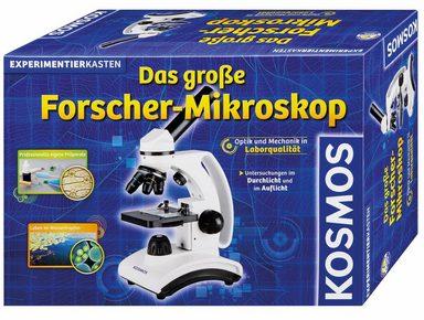 Kosmos »Das große Forscher-Mikroskop« Kindermikroskop (10x-400x)