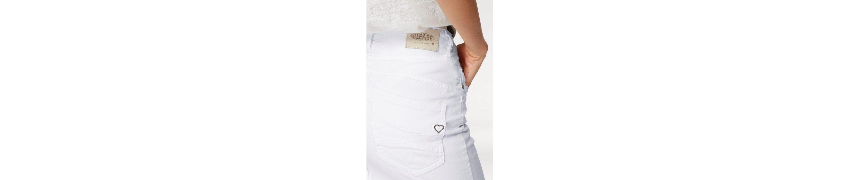 Please Jeans Minirock, mit Knopfleiste vorne