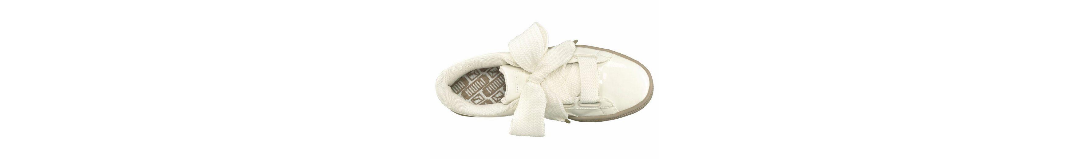 Schnelle Lieferung Verkauf Online PUMA Basket Heart Patent Sneaker Rabatt Beste Preise Rabatt Finish uyt1ic1kTp