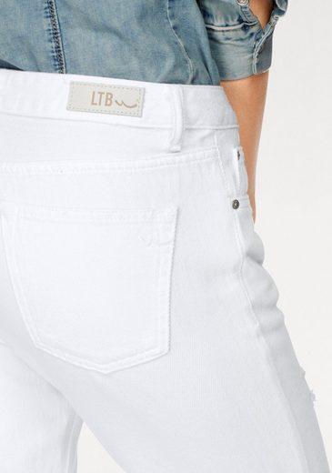 LTB Boyfriend-Jeans ELIANA, mit Destroyed-Effekten