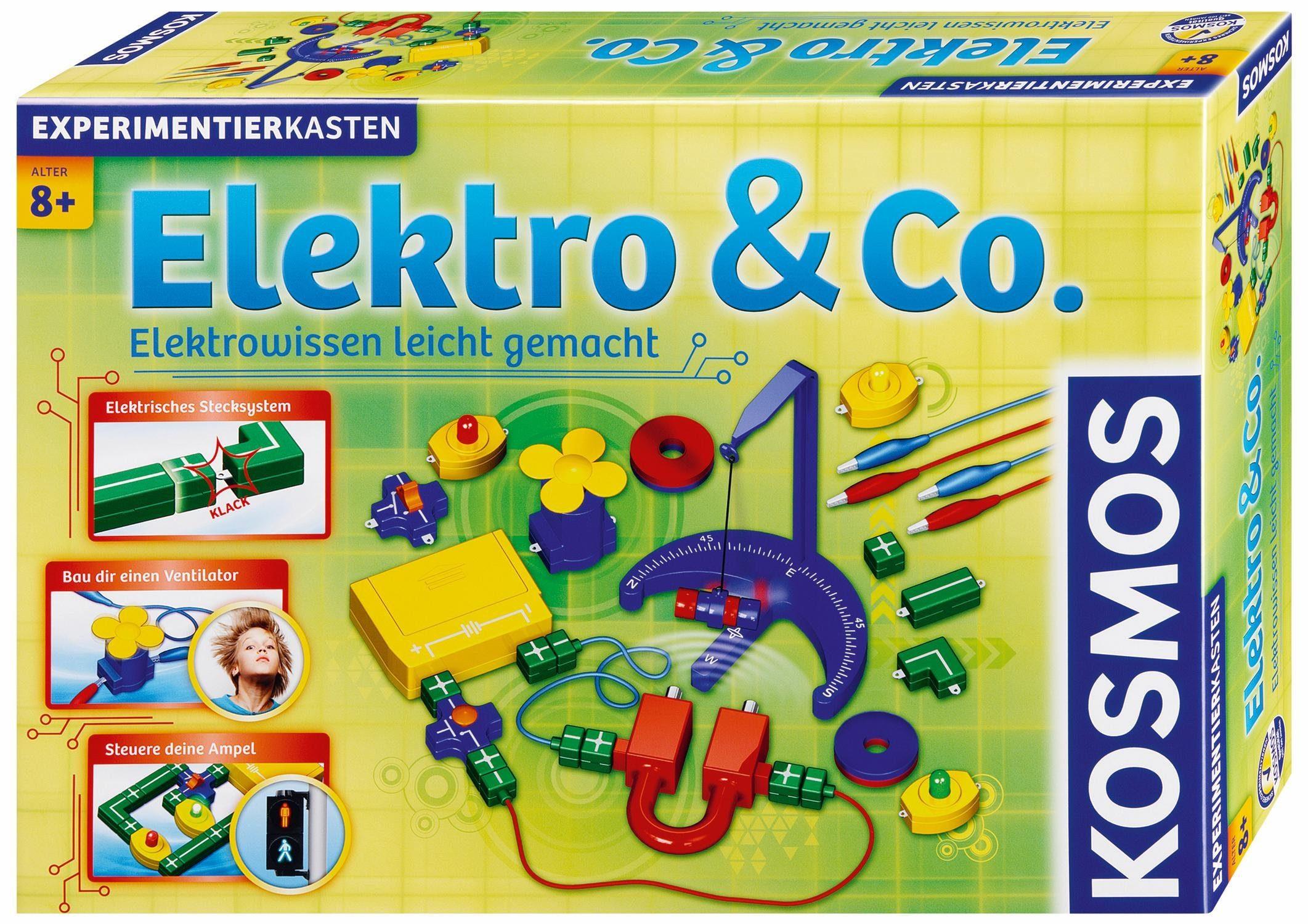 Kosmos Experimentierkasten, »Elektro & Co.«
