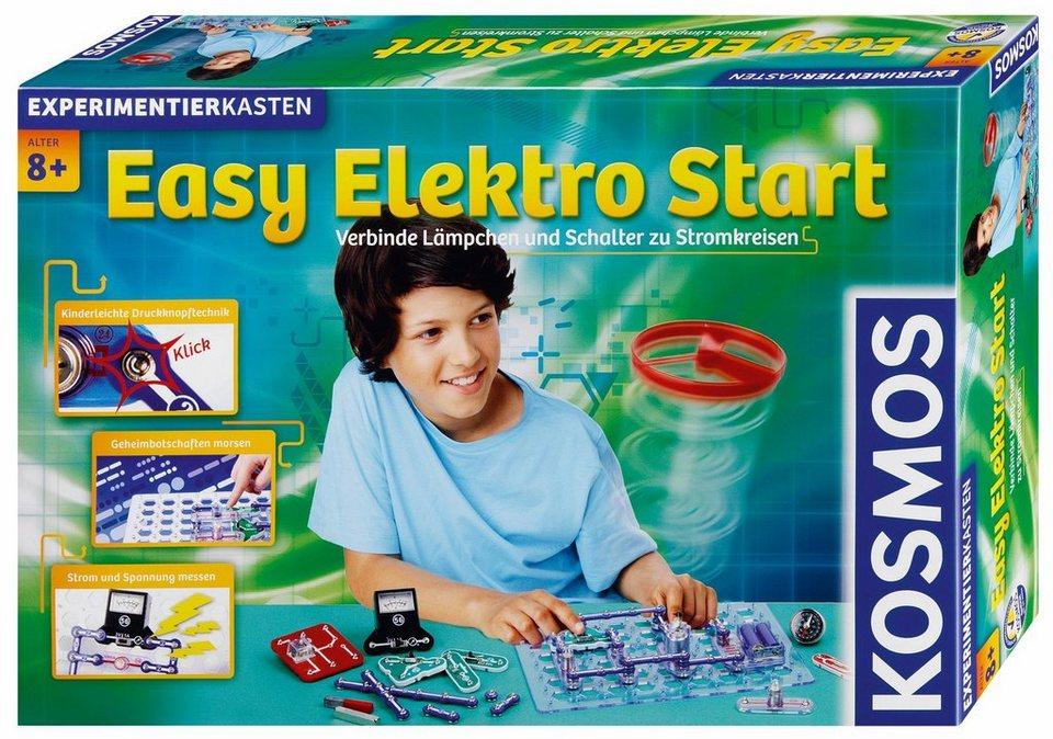 Kosmos Experimentierkasten,  Easy Elektro Start