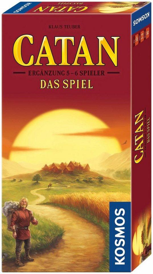 Kosmos Brettspiel Zusatz,  Catan Das Spiel, Ergänzung 5-6 Spieler  online kaufen