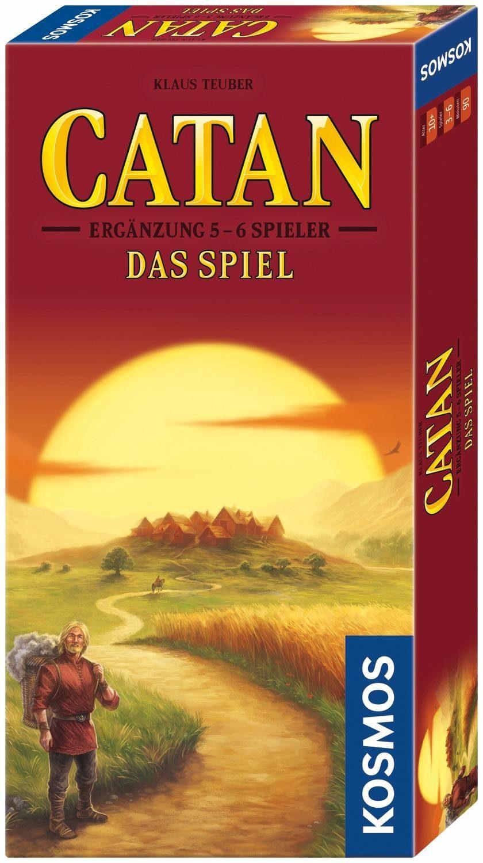 Kosmos Brettspiel Zusatz, »Catan Das Spiel, Ergänzung 5-6 Spieler«