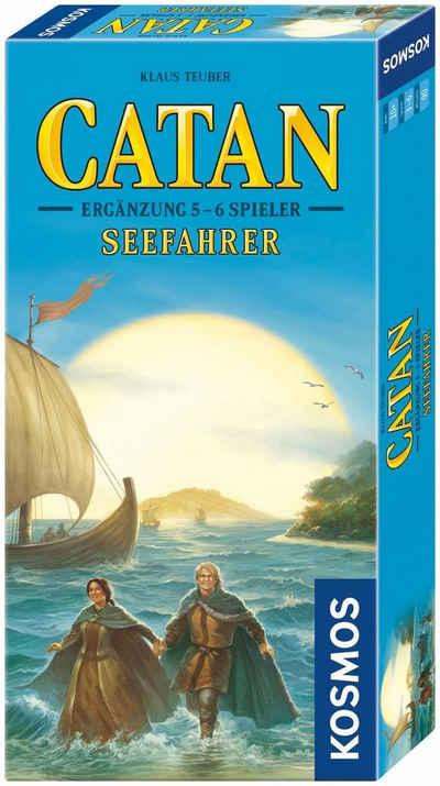 Kosmos Spiel, »Erweiterungsspiel Catan 5 - 6 Spieler, Seefahrer«, Made in Germany