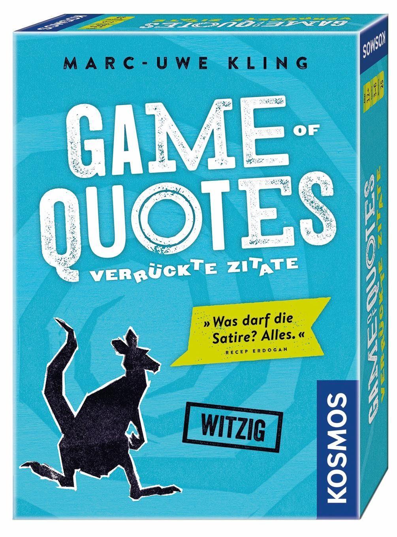 Kosmos Gesellschaftsspiel, »Game of Quotes«